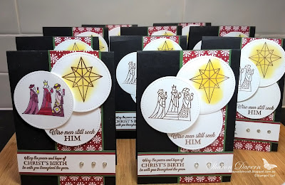 Illuminated Christmas, Christmas cards, rhapsody in craft, heart of Christmas