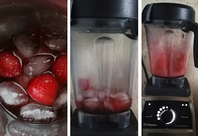 Zubereitung Frozen Negroni