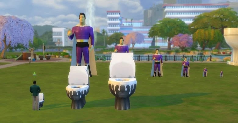 Learn to reduce and enlarge objects in The Sims 4