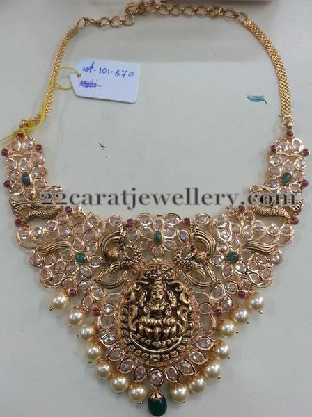101 grams Lakshmi Necklace