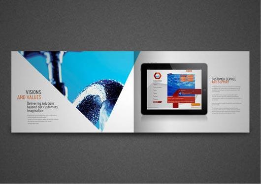 35 Inspirational Company Profile Designs Jayce O Yesta