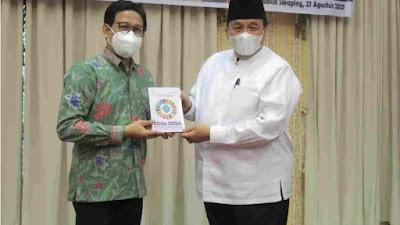 Bupati Benny Utama Minta Mendes PDTT Ikut Membantu Percepatan Pembangunan di Pasaman