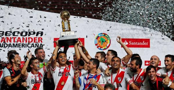 River campeón de la Recopa Sudamericana | Boca Juniors Vs
