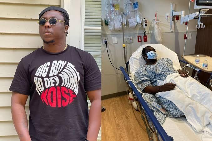 Singer YQ Hospitalized In US (Photo)