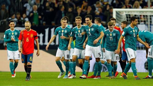 مشاهدة مباراة المانيا وإسبانيا بث مباشر