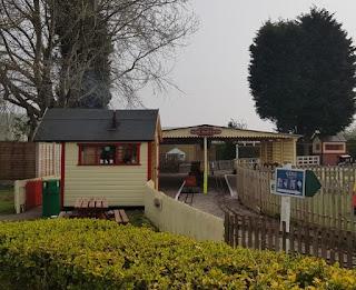 Hilcote Miniature Railway at Fletchers Family Garden Centre in Eccleshall