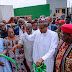 President Buhari inaugurates IPP in Aba, pledges people-oriented projects