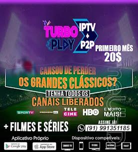 TURBO PLAY IPTV + P2P