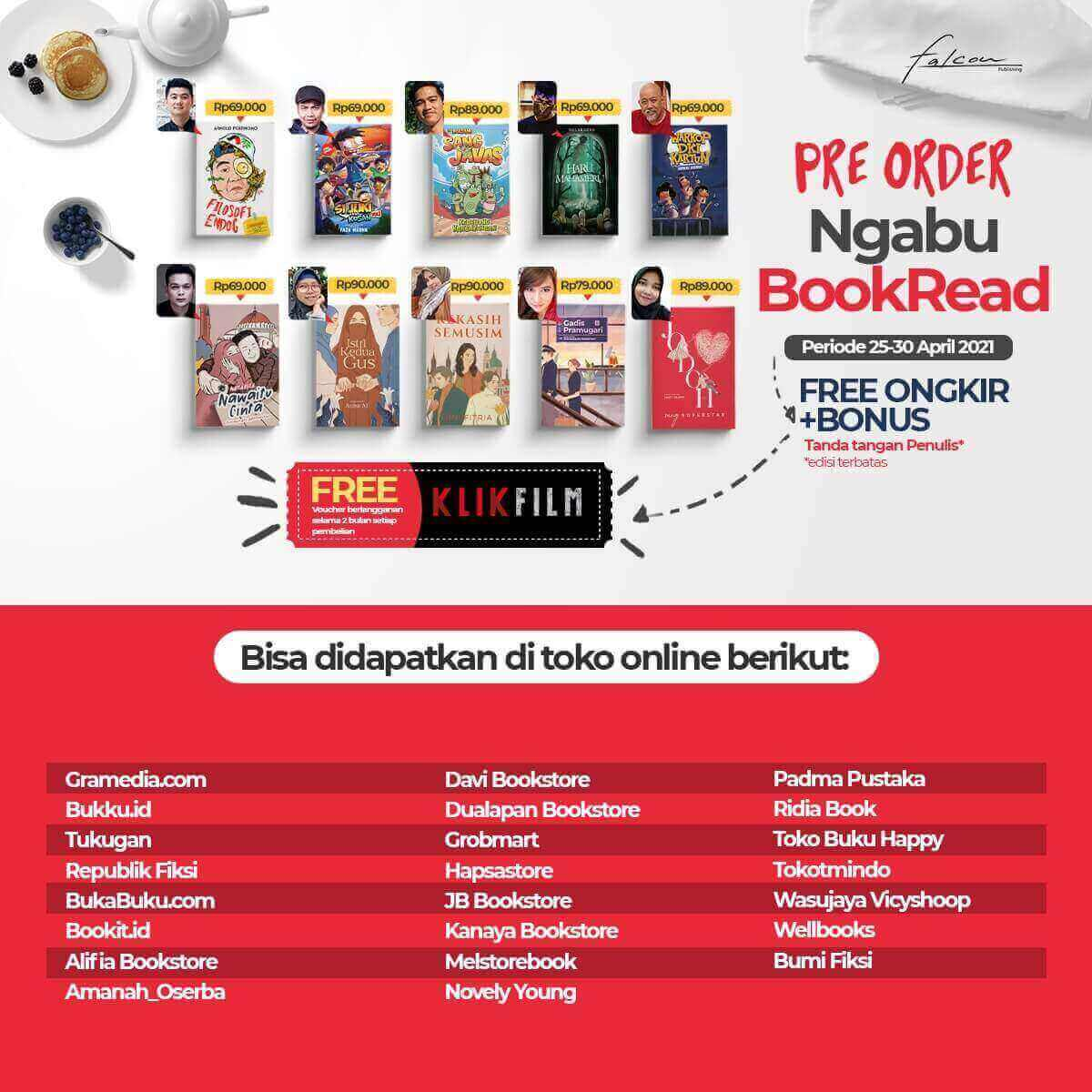 let's ngabubookread with Falcon Publishing