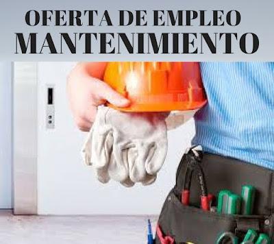 Oferta empleo mantenimiento Hotel Bahía de Vigo