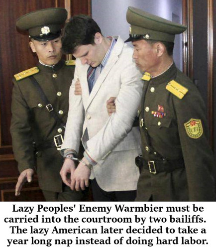 North Korea returns lazy American |Right Wing Humor