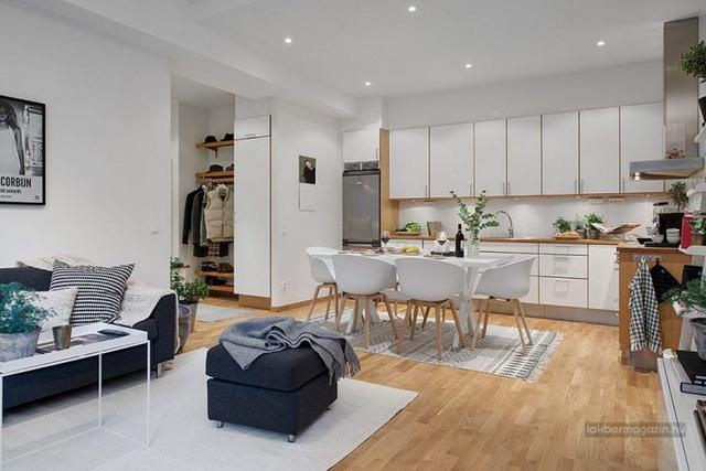 Thiết kế phòng khách sáng tạo chung cư Eco Dream