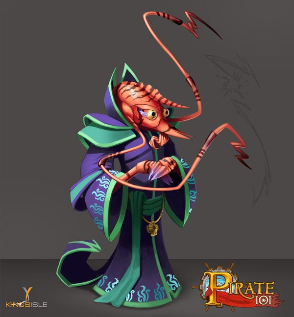 Pirate101 Shrimp Class Companions