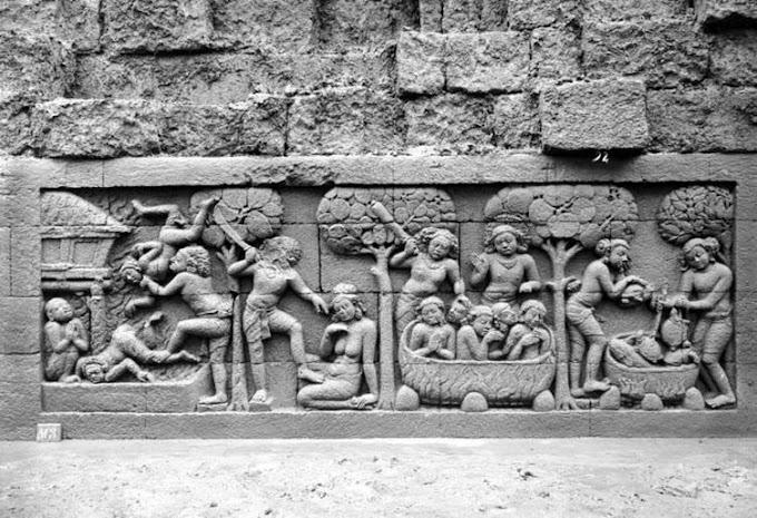 4 Sejarah Buddha yang Dapat Dipelajari dari Relief Candi Borobudur