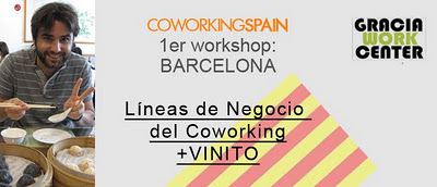 1er workshop barcelona lineas de negocio del coworking