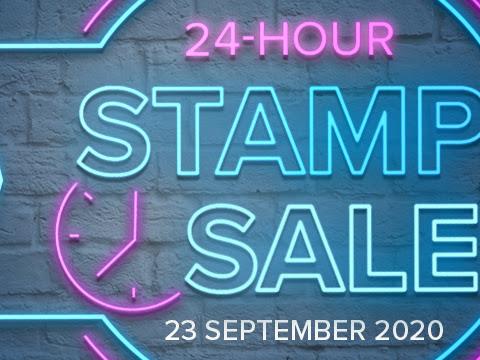 24-HOUR STAMPIN' UP!® STAMP SALE AUSTRALIA