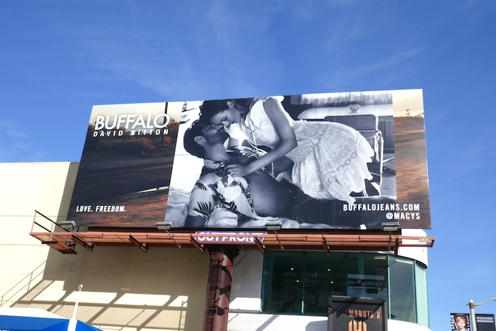 Buffalo Jeans Spring 2020 billboard