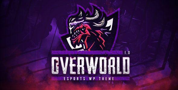 Overworld v1.1 - eSports and Gaming WordPress Theme