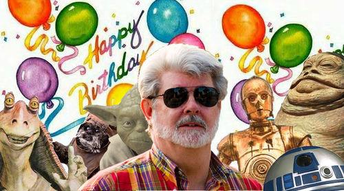 PHOTO: Happy Birthday George Lucas