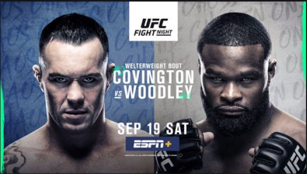 Watch UFC FN 178 Covington vs Woodley 19 September 2020 Full Event Replay Online