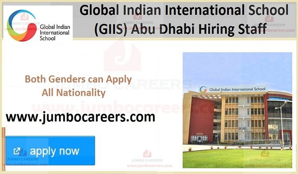 Recent school jobs in Abu Dhabi,