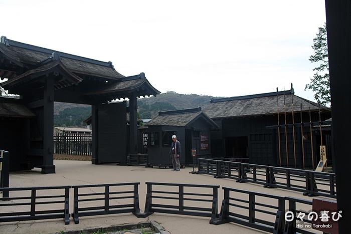 vue générale intérieur checkpoint hakone sekisho