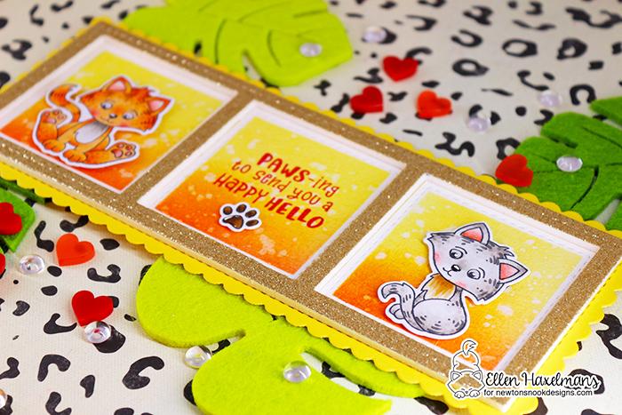#newtonsnookdesigns #nnd #card #cardmaking #stamps #distress #ink #handmade #stamp #set #dies #Glitz #Glitter #gel #ThermOWeb #drawing #card #blog #hop #2021 #valentine #release #love  #paperart #hobby #drawing #Release #January #Smitten #Kittens #slimline #Slimline #Frames #Portholes #Slimline #Frames #Windows #die #set