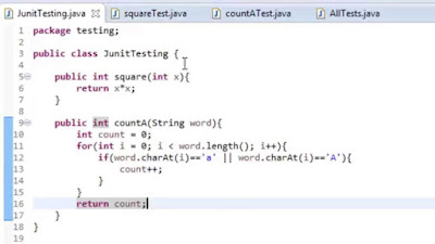 Learn Java for automation testing