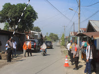 Kapolres Sergai Cek Pelaksanaan PPKM Mikro Desa Zona Orange di Kecamatan Sei Rampah