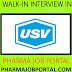 USV LIMITED – Walk-In for Freshers & Experienced – Project Trainees on 15th Dec' 2018