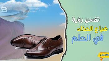 تفسير رؤية ضياع الحذاء في الحلم بالتفصيل