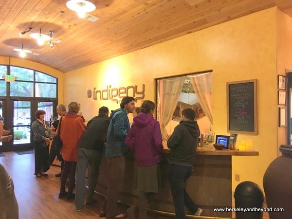 tasting room at Indigeny Reserve in Sonora, California