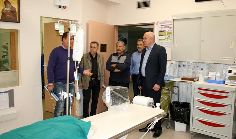 Νέος εξοπλισμός για την Στεφανιαία Μονάδα και τις Καρδιολογικές Κλινικές του Νοσοκομείου Αλεξανδρούπολης