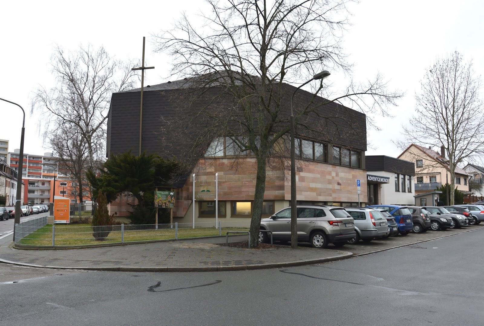 Nürnberginfo: Vier Adventgemeinden in Nürnberg