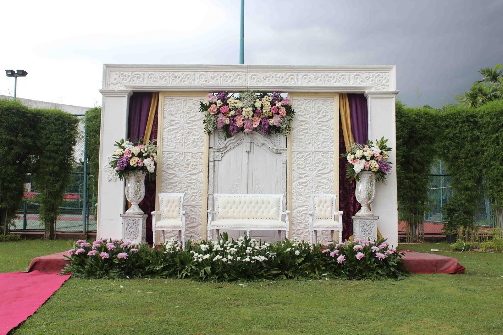 Dekorasi Pernikahan Outdoor Primera Wedding Wedding Decoration