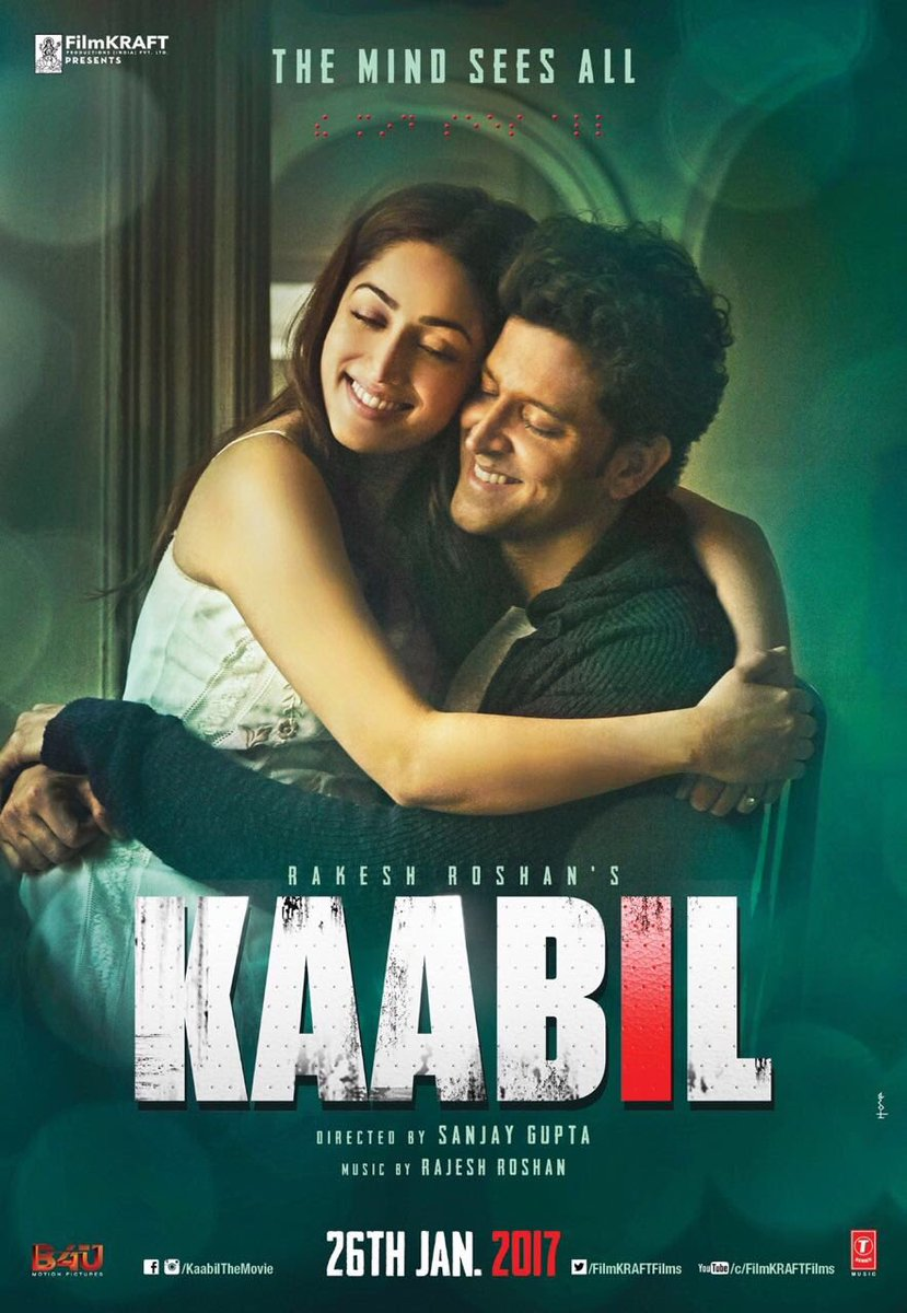 Kaabil (2017) Full Hindi Movie Download 720P