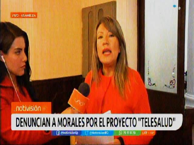 Nueva denuncia contra Evo Morales por licitación de más de Bs 96 millones del programa de Telesalud