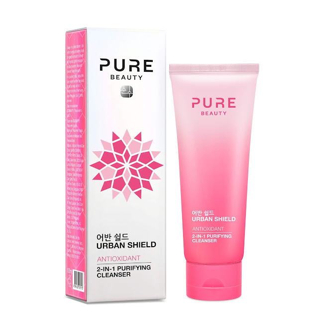 Watsons Pure Beauty urban shield antioxidant 2 in 1 Purifying Cleanser 2 si 1 arada temizleyici maske