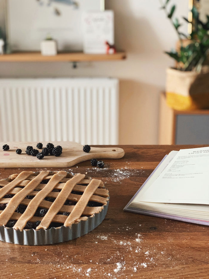 Recette de tarte aux mûres