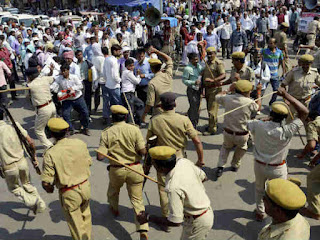 Lathicharge On Lawyers Of West UP Staging Peaceful Protest In Meerut Is Disgusting And Shocking