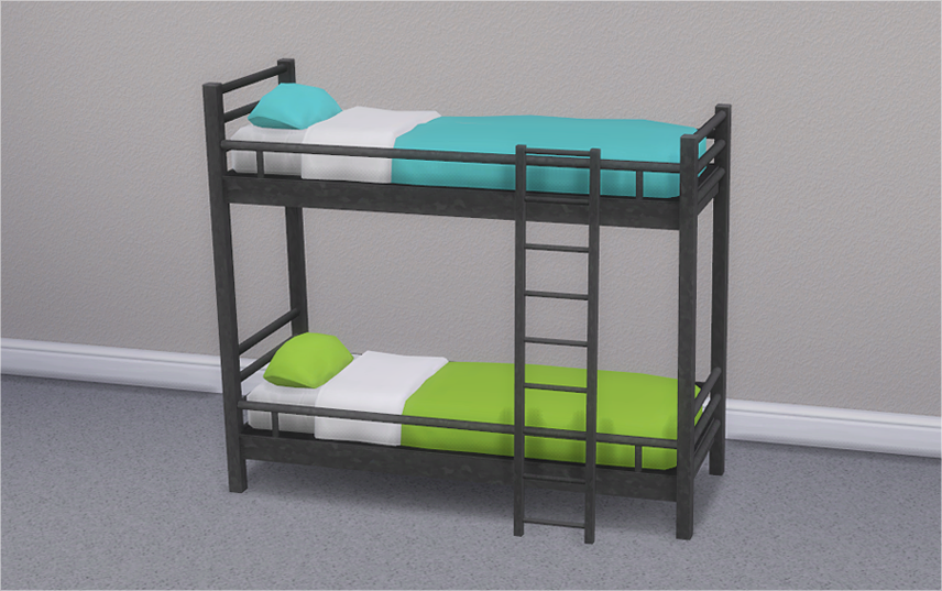 How To Make Bunk Beds On Sims