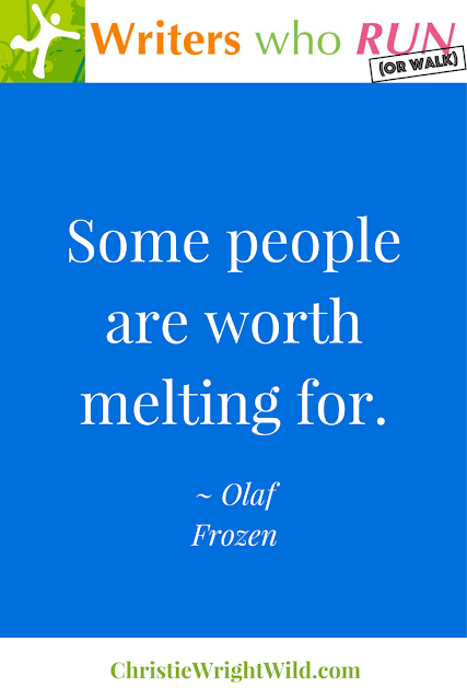 """Some people are worth melting for."" ~ Olaf, Frozen 