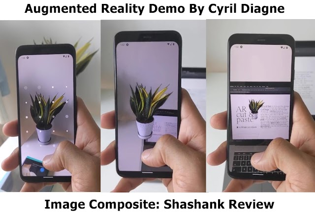 Use Your Smartphone To Digitize Environment Using Augmented Reality