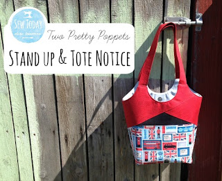 Two Pretty Poppets Stand Up & Tote Notice