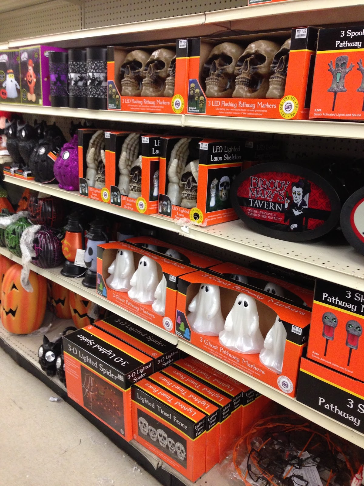 Fright Bites Photo Report Halloween Finds At Big Lots