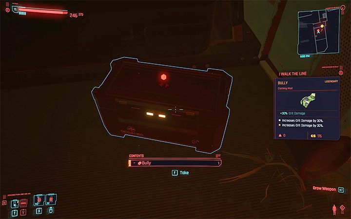 Cyberpunk 2077: Weapon / Armor Mods - How Do I Replace Them? Screenshot