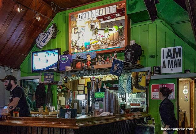 Green Beetle, um pub no Centro de Memphis
