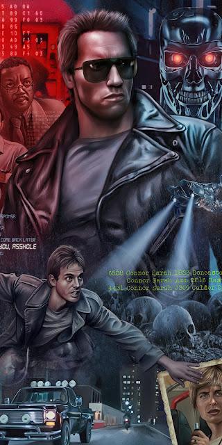 HD Wallpaper The Terminator 1984 poster
