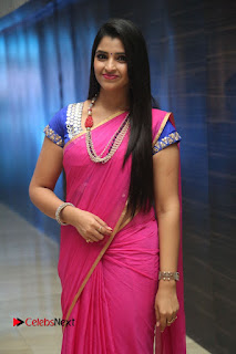 Anchor Shyamala Pictures in Pink Saree at Nandini Nursing Home Audio Launch 0074