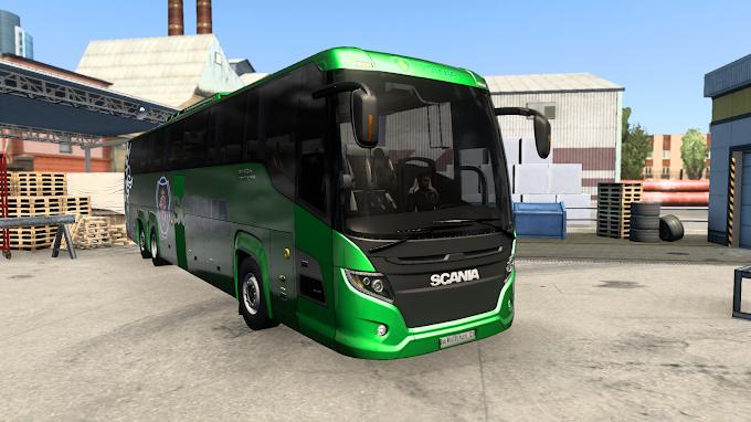 ETS 2 - Scania Touring HD Otobüs Modu (1.40)